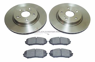 16435 FRONT BRAKE DISCS AND PADS FOR SUZUKI GRAND VITARA 1.9DDIS 12//2005