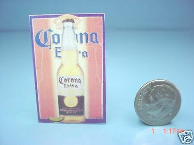 Miniature Beer Sign : Dollhouse P188