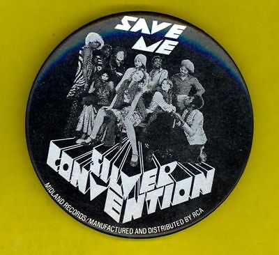 Silver Convention '75 funkadelic badge pinback button e