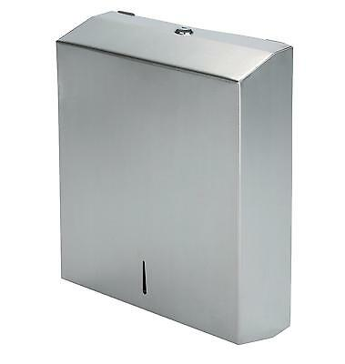 Stainless Steel C Fold Multi Paper Hand Towel Dispenser Wall Mounted Key Lock
