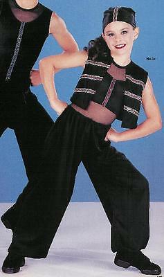 Stomp Hip Hop 5 piece Costume Dance Adult Small & XL Clearance