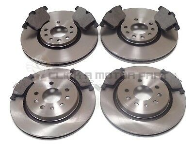 VAUXHALL VECTRA C 3.0 CDTi + 3.2 GSi FRONT & REAR BRAKE DISCS AND PADS SET NEW