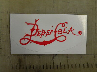 "Vintage Pepsi 1898 sticker decal sign 5""x2.4"""