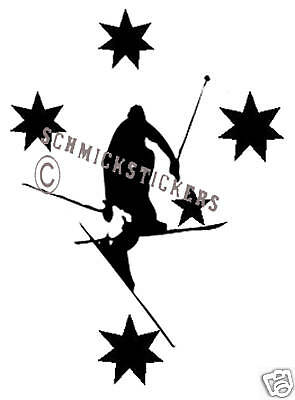 Ski Australia Southern Cross Sports Car Sticker