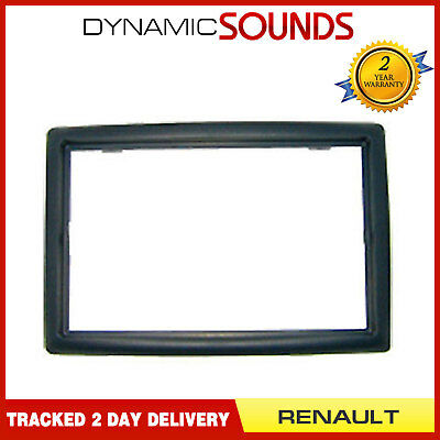Double Din Car CD Stereo Fascia Panel For Renault Megane