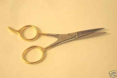 "Barber Hair Cutting Scissors 4.5"" EXCELLENT STAINLESS"