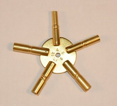 5-Prong Clock Key, Odd Number Sizes