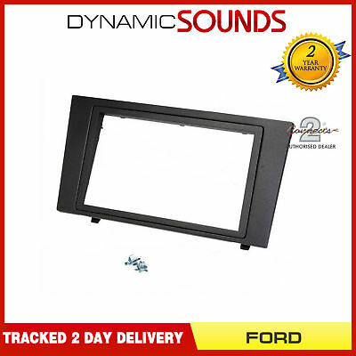 DFP-07-07 Anthracite Double Din Stereo Fascia Panel Adaptor For FORD Mondeo