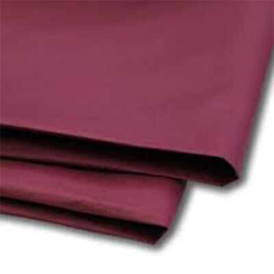 50 Sheets Burgundy Tissue Paper 500x750 Acid Free
