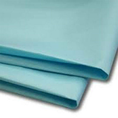 50 Sheets Sky Blue Tissue Paper 500x750 Acid Free