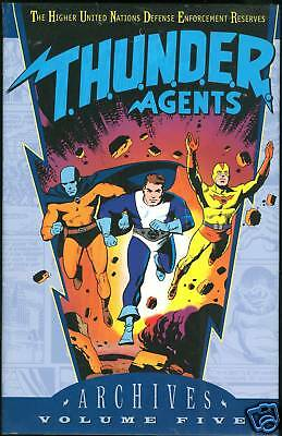 DC Archives THUNDER Agents Vol 5 Hardcover HC HB Sealed