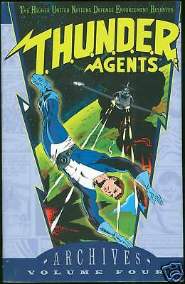 DC Archives THUNDER Agents Vol 4 Hardcover HC HB Sealed