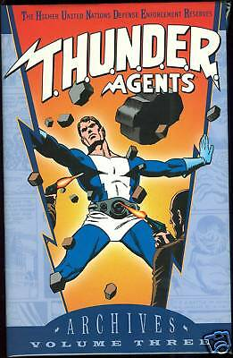 DC Archives THUNDER Agents Vol 3 Hardcover HC HB Nice!