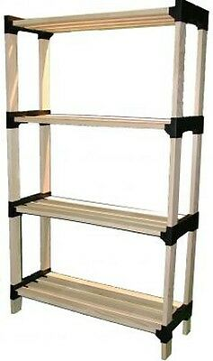 Wholesale Lot Of 24 Wooden Storage Shelves Plant Stand