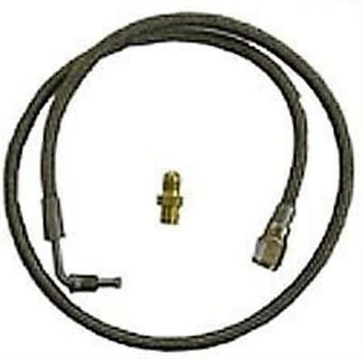 """Clutch Line 36"""" Connects throwout bearing to slave cylinder 3/16"""" x -3AN IMCA"""