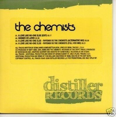 (350Q) The Chemists, A Love Like No-One Else - DJ CD