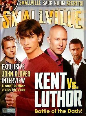 SMALLVILLE Official Magazine # 8 Direct KENT vs LUTHOR