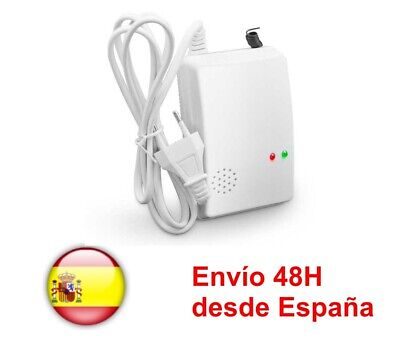Detector De Gas Con Alarma Local A 220V