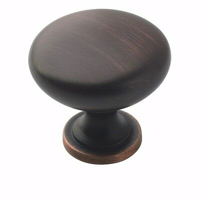 Cabinet Hardware Oil Rubbed Bronze Knobs #5305 100 Pack