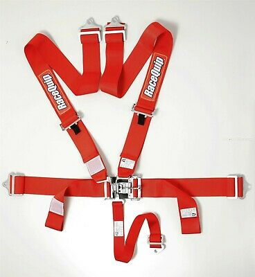 Racequip Red 5 point Racing Harness Seat Belts 711011 CURRENT DATES Razor Rzr