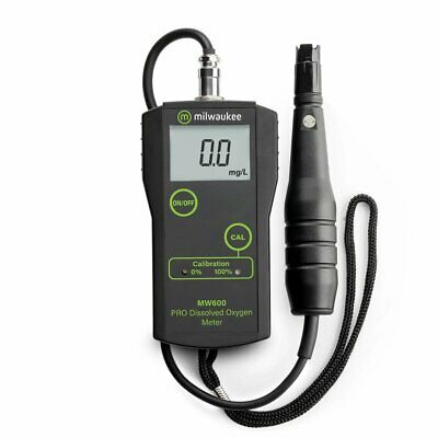 Milwaukee MW600 Dissolved Oxygen DO Meter, SM600 NEW!