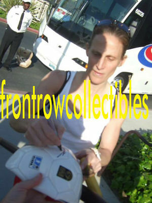 Kristine Lilly Signed Team USA Soccer Ball Exact PROOF