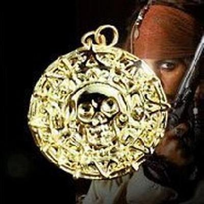 Aztec 24k gold plated coin Pirates of the Caribbean