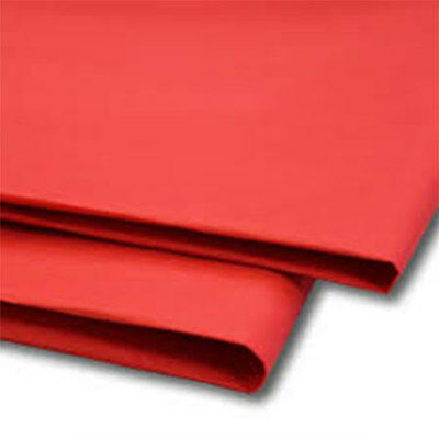 50 Sheets Red Tissue Paper 500x750 Acid Free