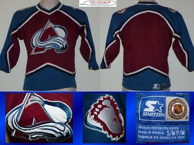 Maillot jersey de hockey sur glace NHL Colorado AVALANCHES 14a S