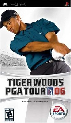 Tiger Woods PGA Tour 06 PSP Great Condition Complete