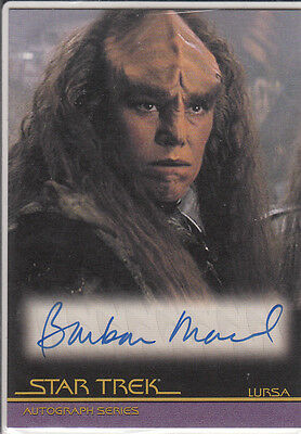 Star Trek Movies in Motion:A69 Barbara March autograph