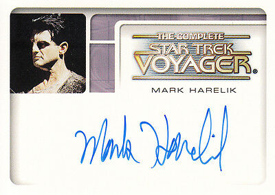 Voyager Complete:A3 Mark Harelik (Kashyk) auto
