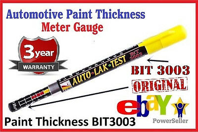 Paint Thickness Meter Gauge BIT 3003 CRASH-TEST CHECK 2018