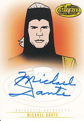 Star Trek TOS Art&Images: A38 Michael Dante autograph
