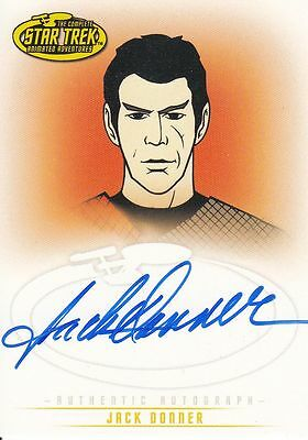 Star Trek TOS Art&Images: A25 Jack Donner autograph