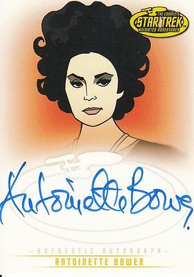 Star Trek TOS Art&Images: A33 Antoinette Bower autograph