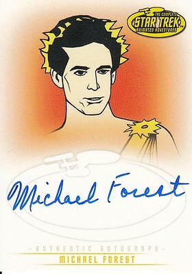 Star Trek TOS Art&Images: A29 Michael Forest auto