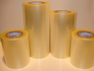 "8"" x 100 yd Clear Transfer Tape Roll for adhesive back vinyl application 300feet"