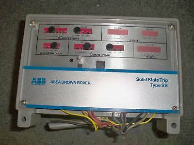ABB SS4 Power Sheild Solid State Trip Type SS 600-1600A LS Functions Used