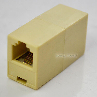 RJ-11 Phone Line Cable Coupler connector socket adapter
