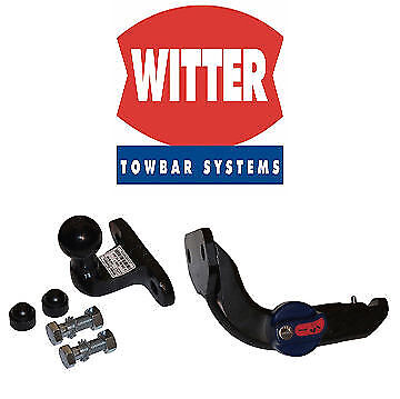 Witter Towbar for Dodge Nitro 2007 On - Detachable Flange Tow Bar