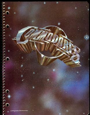 Commodores 1978 Lionel Richie spiral school binder MINT