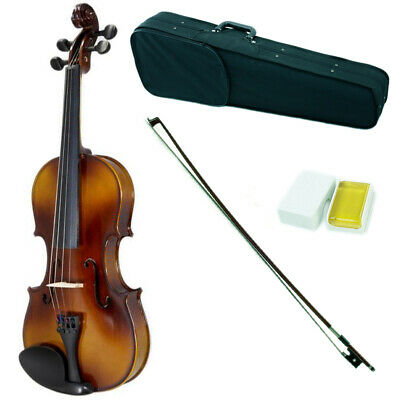 1/16 Student Violin w Case,  Rosin & Extra Bow/Strings