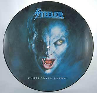 Steeler Undercover Animal Disco Lp Vinile 33 Metal 1988