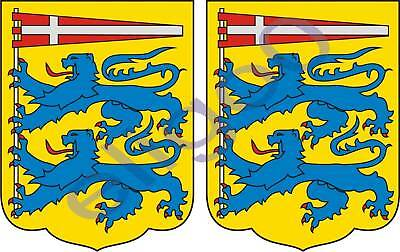 car emblems 2x siauliai LITHUANIA coat of arms bumper stickers Car Body & Exterior Styling Parts