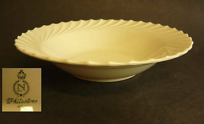 Vintage NASCO CHINA WHITESTONE SERVING BOWL Mid Century