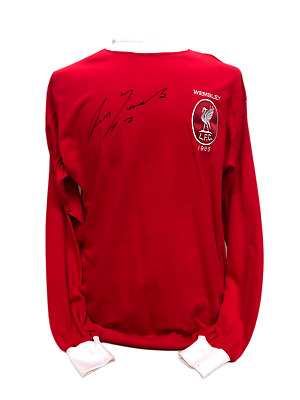 Ron Yeats Signed Liverpool Fc 1965 Fa Cup Shirt Coa Proof Football Kop Legend