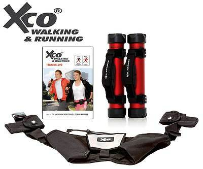 XCO Walking & Running Trainer Set 1  | Jogging Gewicht Laufen Sport  NEU+OVP