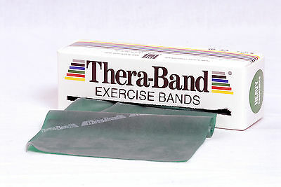TheraBand Original Übungsband 2 m stark grün | Thera Band Expander Gymnastik NEU