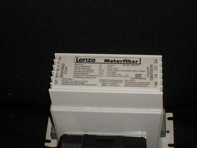 Motorfilter Used With Variable Frequency Drive - Lenze